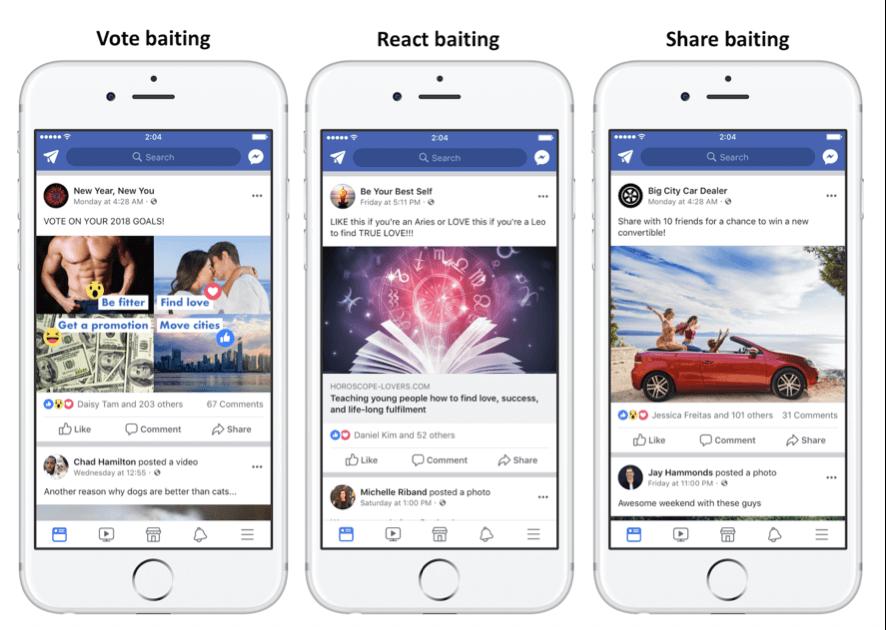 post penalizados por facebook