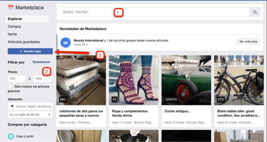 marketplace de facebook