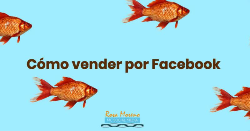 cómo vender por facebook