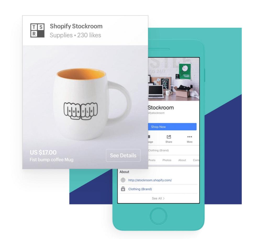 vender en Facebook con Shopify