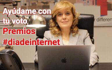 Rosa Moreno nominada para el premio Día de Internet