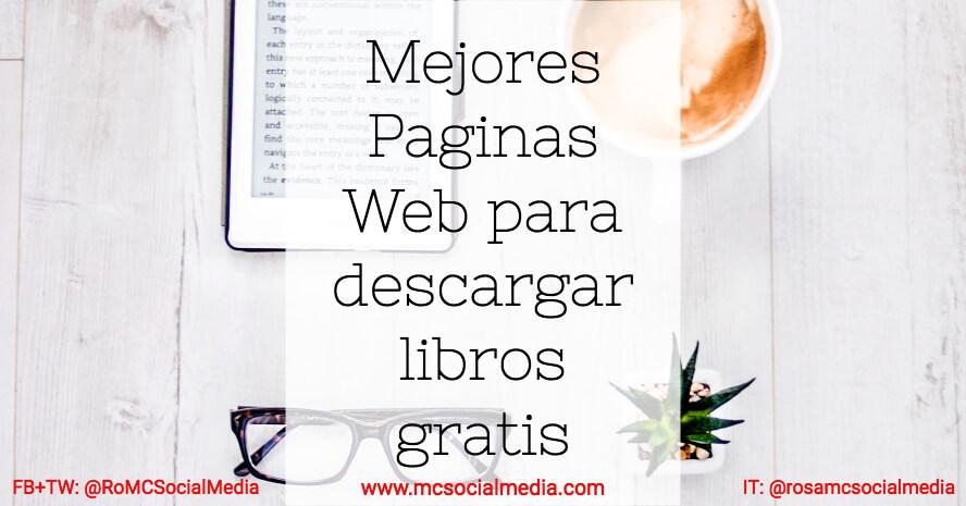 Las Mejores Páginas Web Para Descargar Libros Gratis