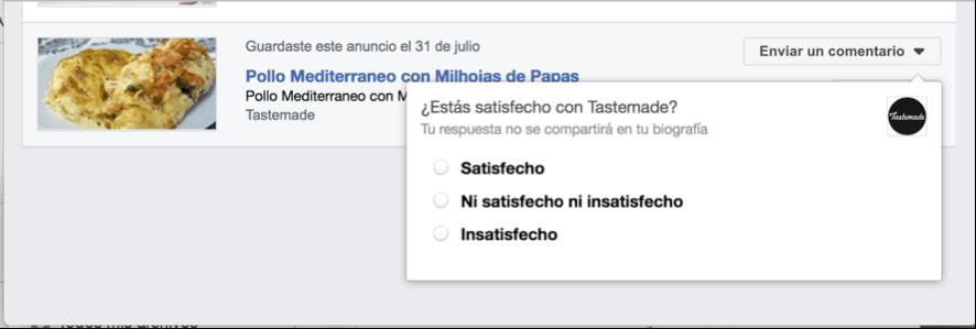 Facebook Ads Activity