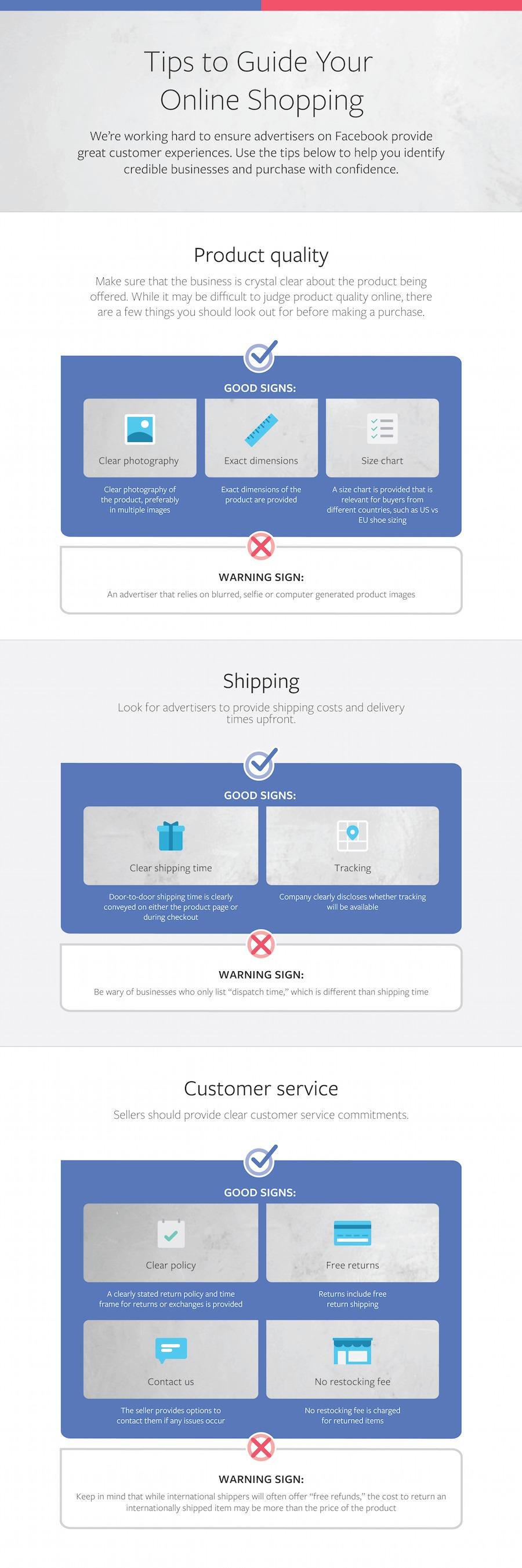 tips guía venta online