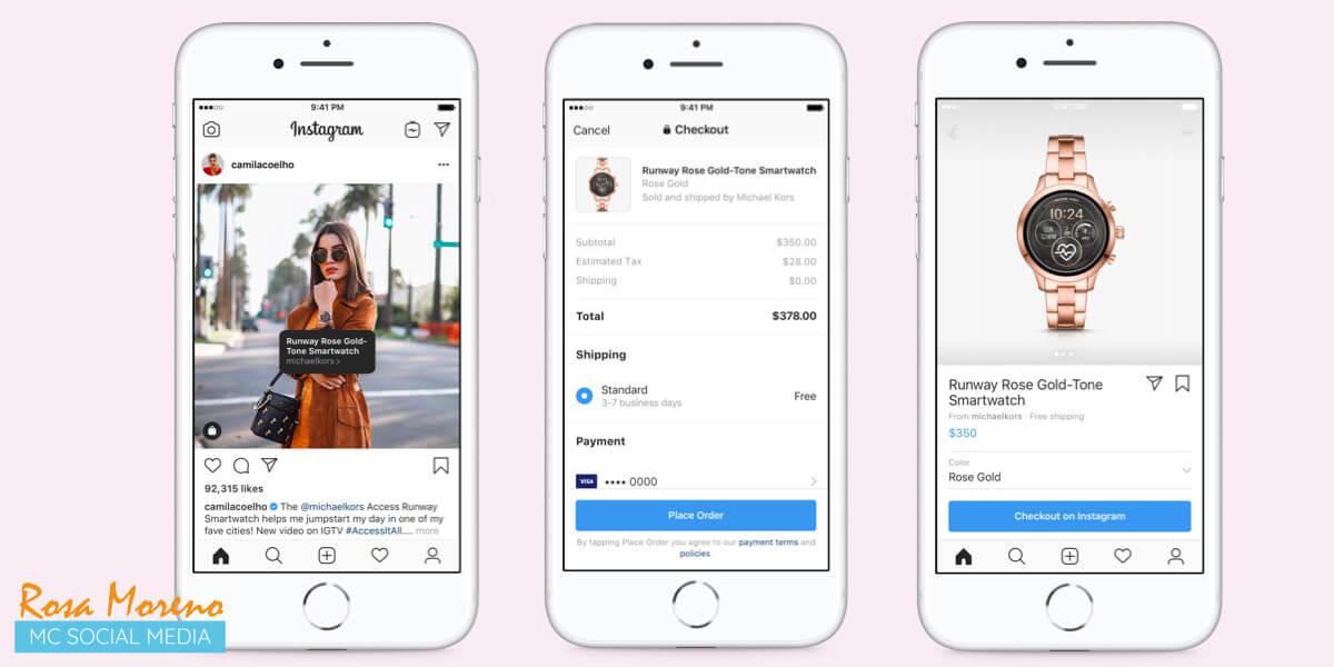 cambios novedades facebook f8 2019 compras desde perfiles creadores instagram influencers