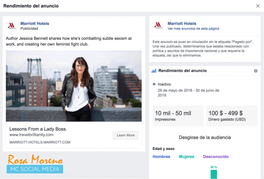 como espiar anuncios competencia en facebook ads anuncio rechazado facebook relevancia nacional