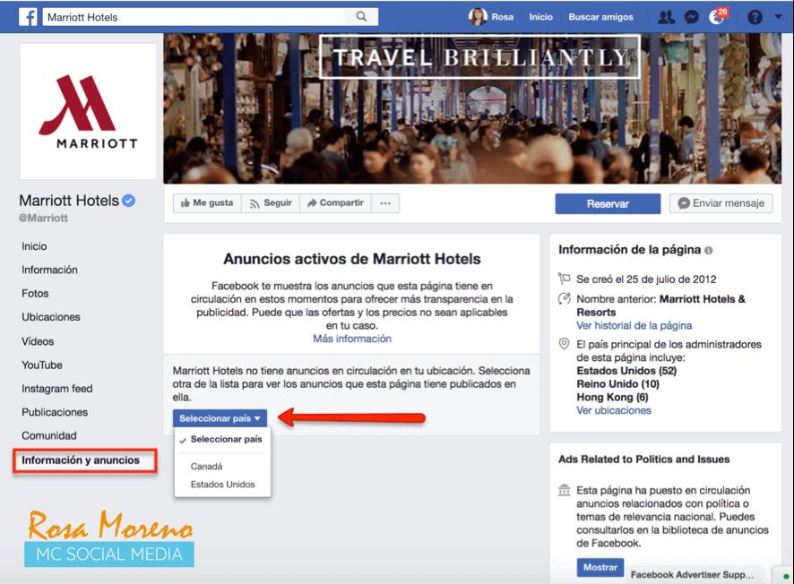 como espiar anuncios competencia en facebook ads anuncios competencia paises