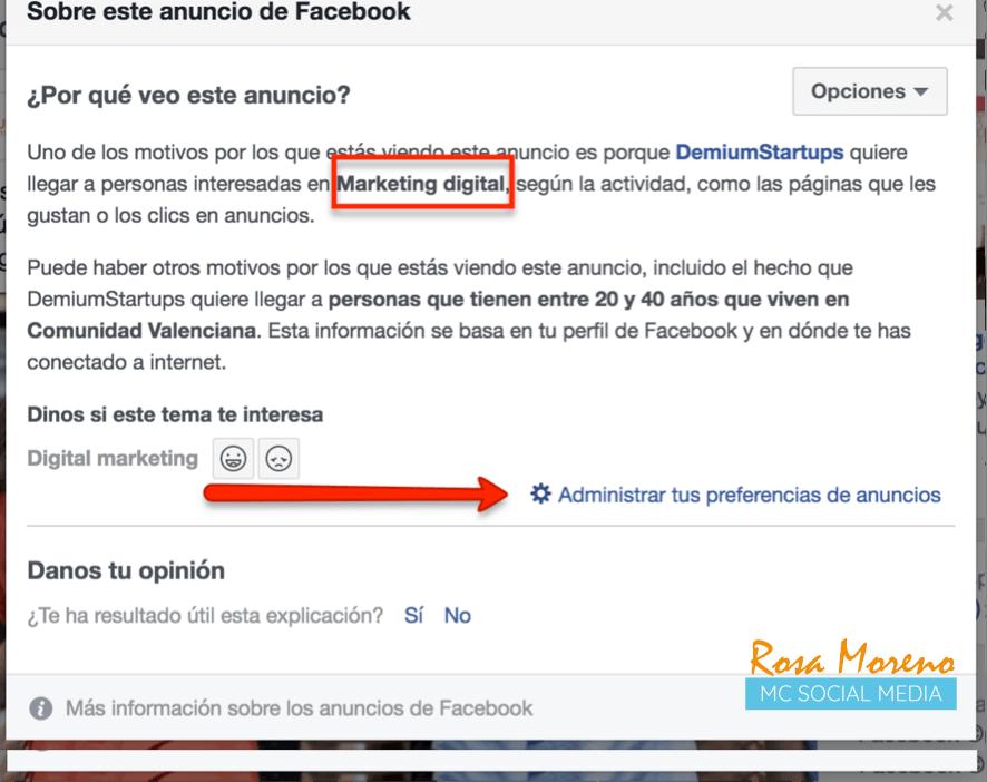 como espiar anuncios competencia en facebook ads como ver segmentacion publicos empresas competencia