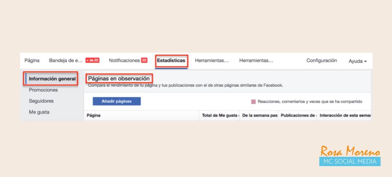como espiar anuncios competencia en facebook ads paginas seguimiento herramientas pagina empresa