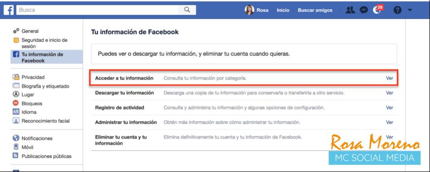 como espiar anuncios competencia en facebook ads perfil personal tu informacion de facebook