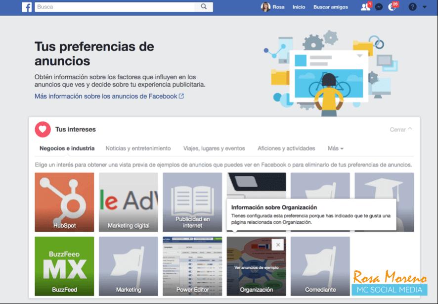 como espiar anuncios competencia en facebook decide tu experiencia publicitaria