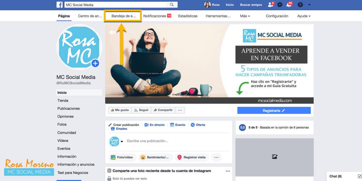 como eliminar comentarios negativos anuncios facebook publicidad facebook ads feed noticias pagina bandeja entrada
