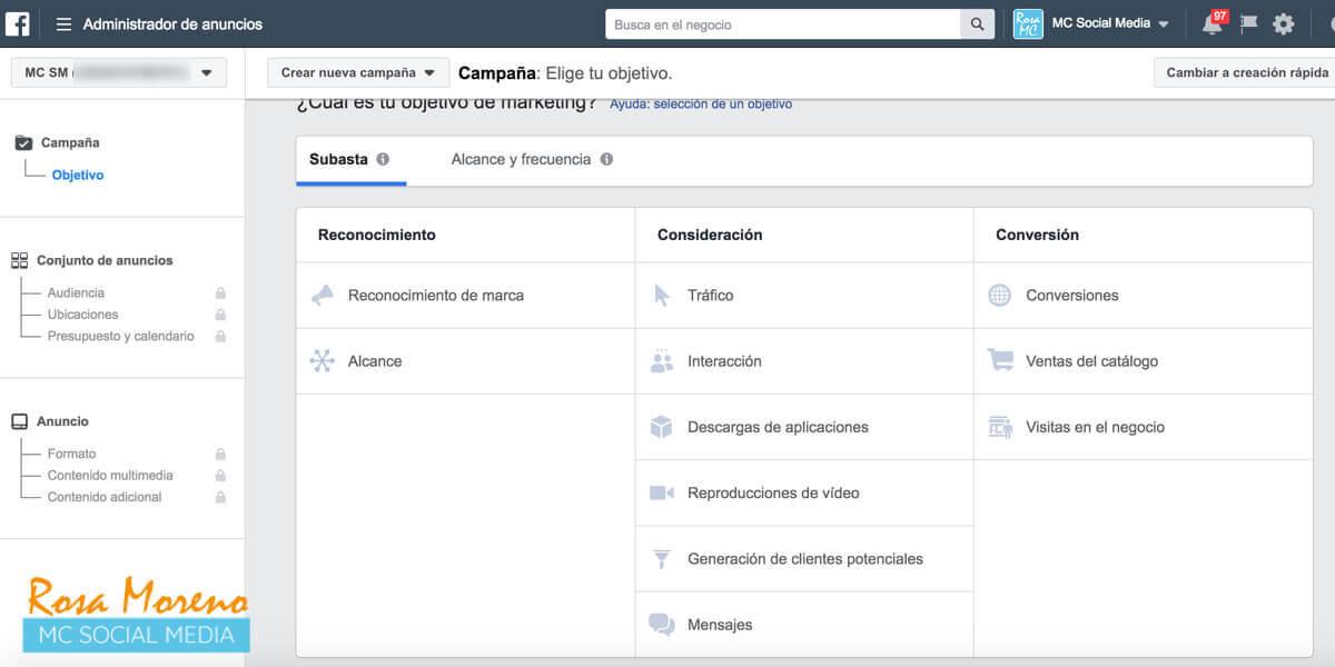 todos los negocios deben anunciarse Facebook anuncios facebook objetivos marketing facebook