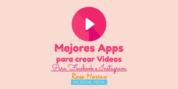 apps para hacer videos para facebook e instagram mejores apps para crear videos stories feed noticias