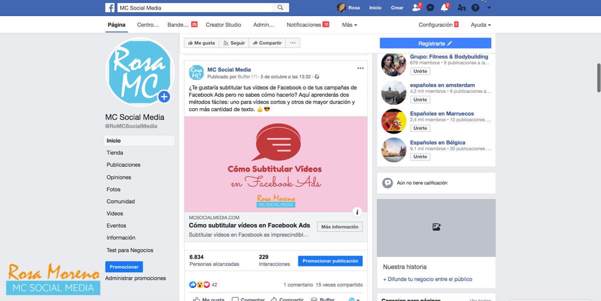 curso gratis publicidad facebook ads certificado oficial promocionar publicacion facebook no es hacer publicidad facebook