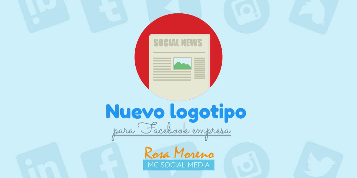 facebook nuevo logotivo imagen marca corporativa noticia facebook empresa